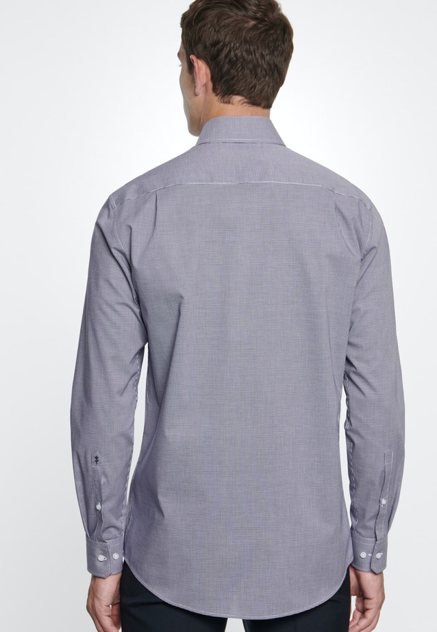 Non-iron Poplin Business Shirt in Regular with Kent-Collar in Purple |  Seidensticker Onlineshop