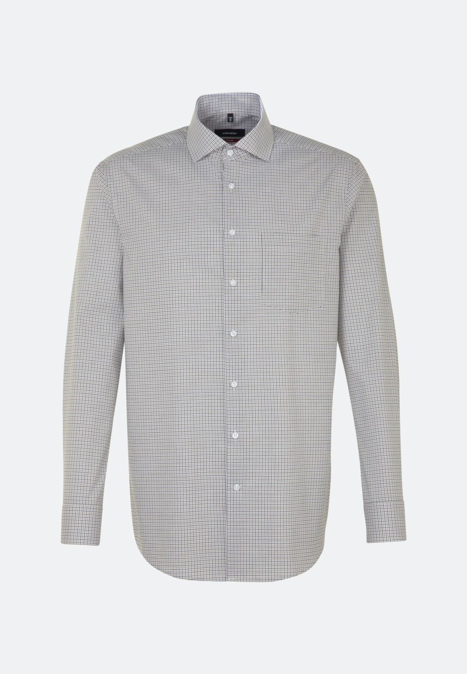 Non-iron Poplin Business Shirt in Regular with Kent-Collar in Yellow    Seidensticker Onlineshop