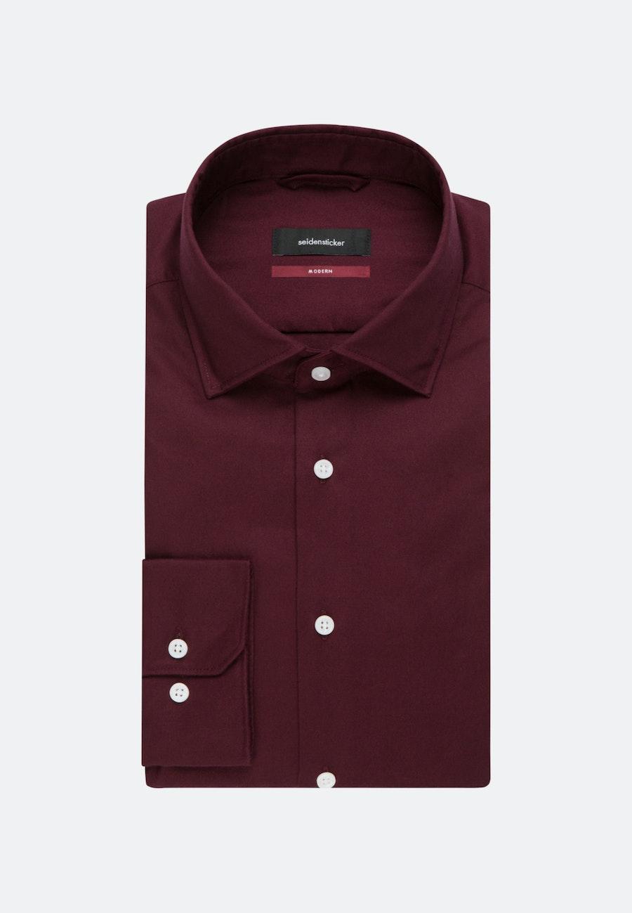 Easy-iron Twill Business Shirt in Regular with Kent-Collar in Red |  Seidensticker Onlineshop