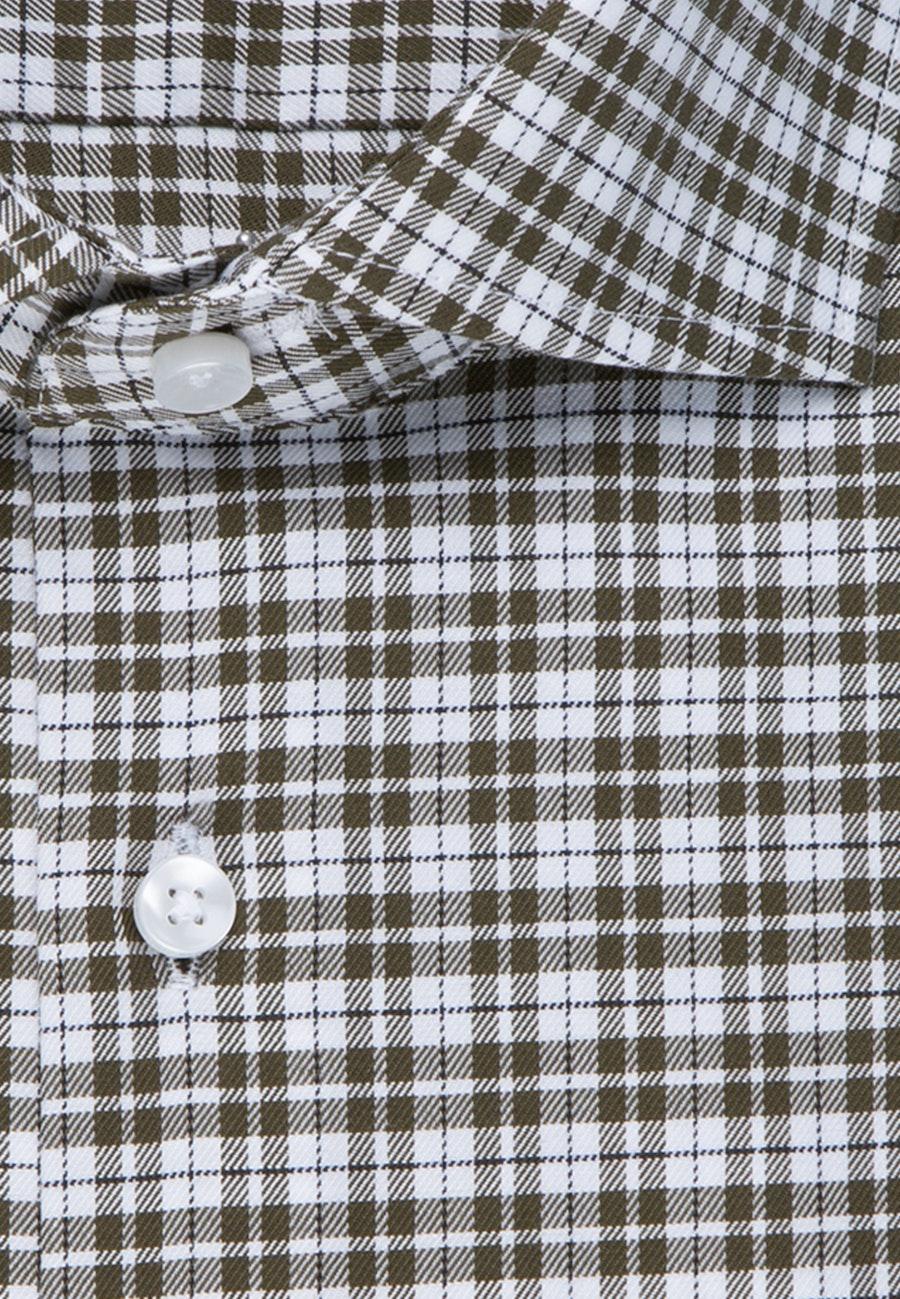 Bügelfreies Twill Business Hemd in Regular mit Kentkragen in Grün |  Seidensticker Onlineshop
