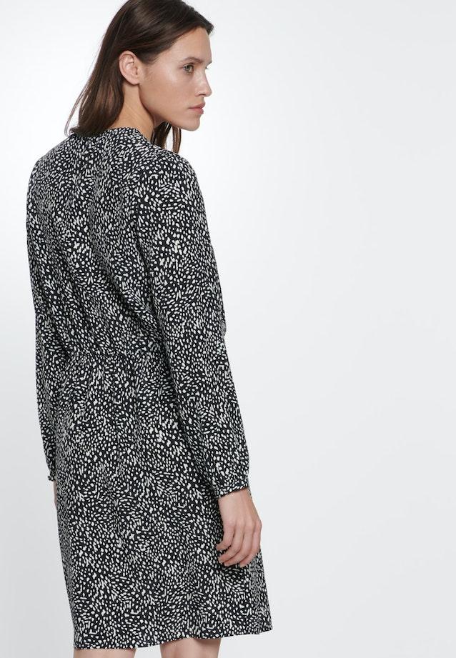 Crepe Midi Dress made of 100% Viscose in Grey |  Seidensticker Onlineshop