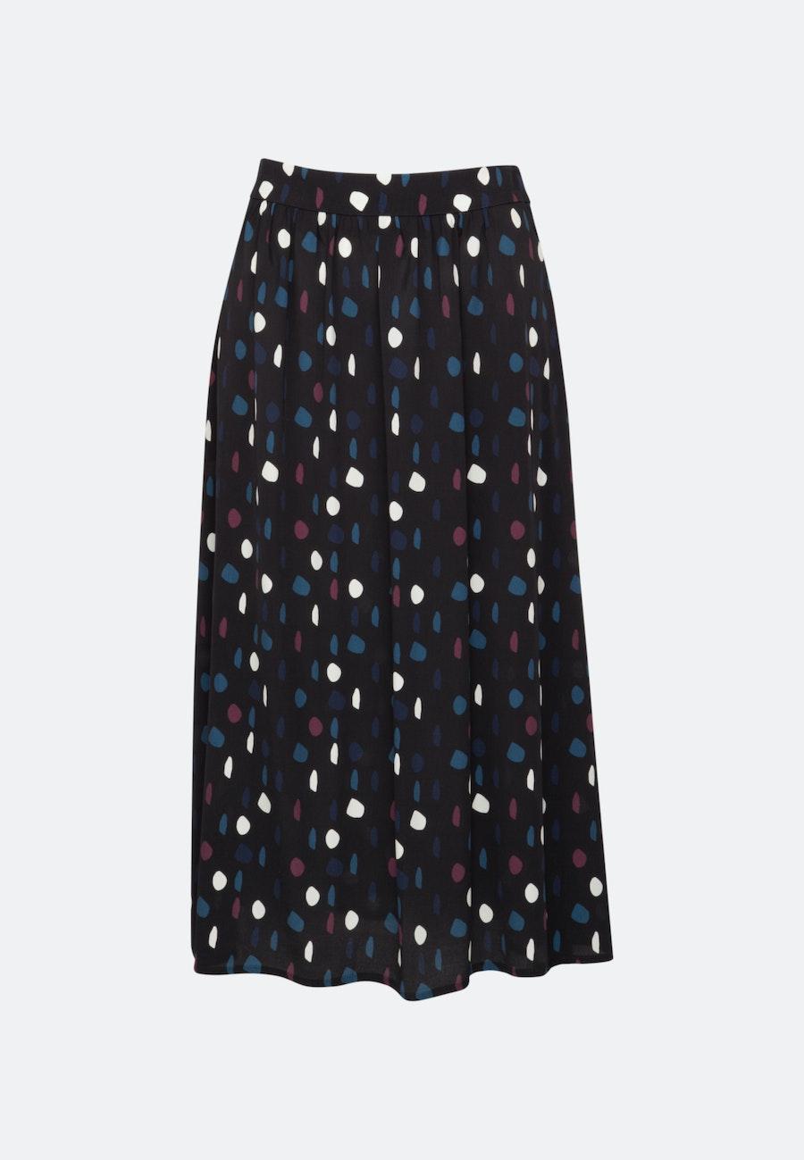 Chiffon Midi Skirt made of 100% Viscose in Grey |  Seidensticker Onlineshop