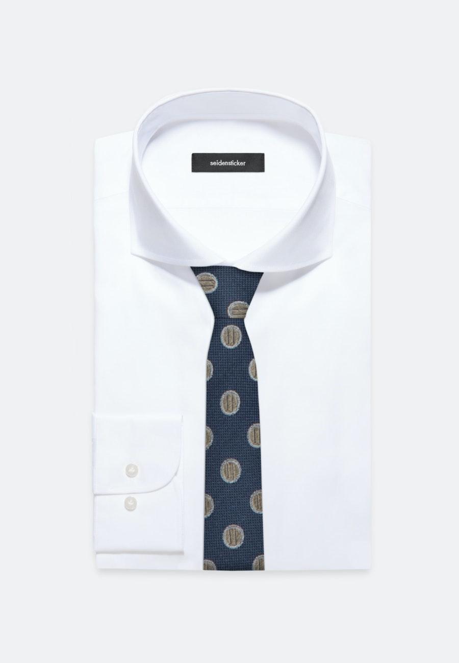 Krawatte aus 100% Seide 5 cm Breit in Braun |  Seidensticker Onlineshop