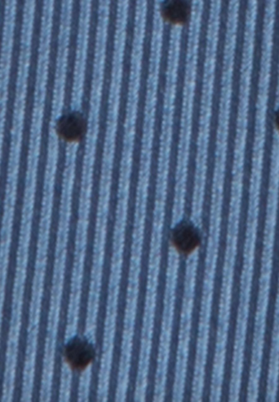Tie made of 100% Silk 7 cm wide in Light blue    Seidensticker Onlineshop