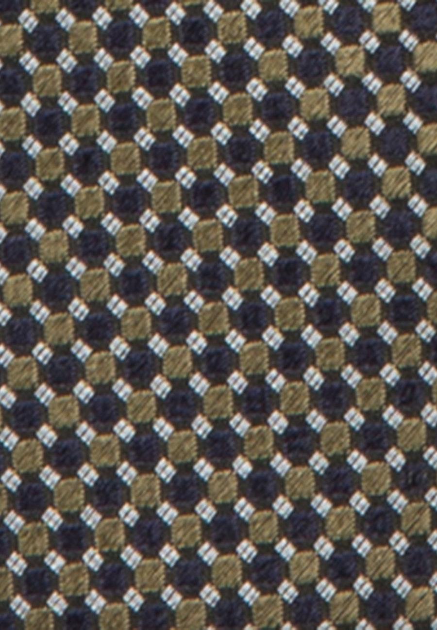Krawatte aus 100% Seide 7 cm Breit in Gelb |  Seidensticker Onlineshop