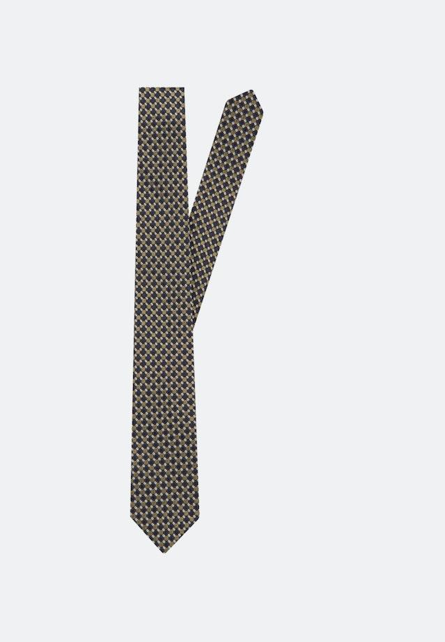 Krawatte aus 100% Seide 7 cm Breit in Gelb    Seidensticker Onlineshop