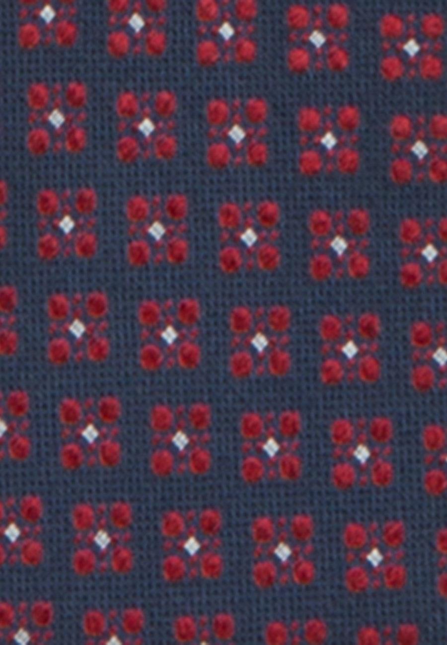 Tie made of 100% Silk 7 cm wide in Red    Seidensticker Onlineshop