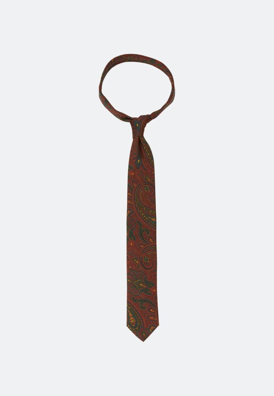 Tie made of 100% Silk 7 cm wide in Orange    Seidensticker Onlineshop
