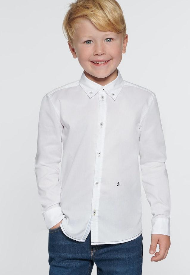 Children Shirt Long Arm Button-Down-Collar in Weiß |  Seidensticker Onlineshop